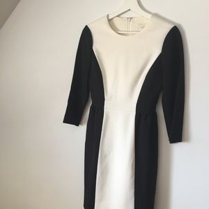 Kate Spade black/white dress